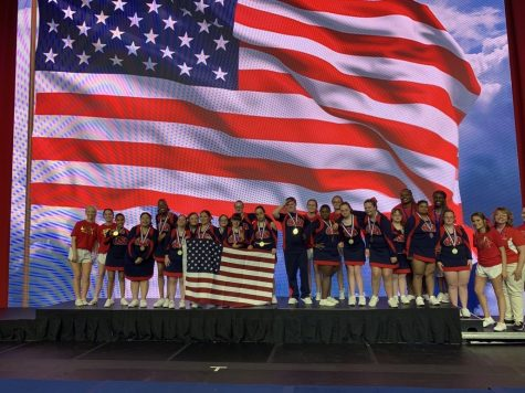 The SuperNovas represent the USA and took home gold medals at the 2019 International Cheerleading Worlds.
