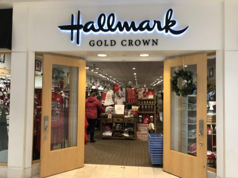 Seasonal stores such as the Hallmark store in Montgomery Mall set up holiday decorations weeks before the holiday season begins to get customers excited for great holiday sales and deals.