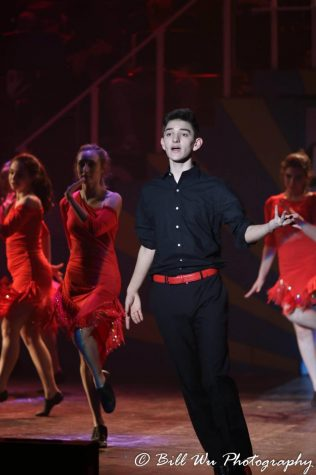 Senior Michael Castelli started dancing when he was entering high school, and is completely self trained. He is the co dance captain of BLAST and Showstoppers, as well as a choreographer in the school musical Legally Blonde.