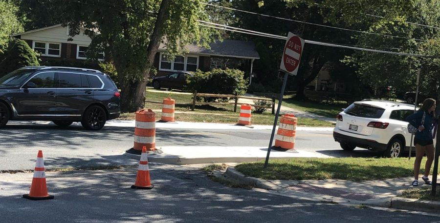 Old spots where students used to be able to park are now blocked with cones and no parking signs, lessening parking for upperclassmen.