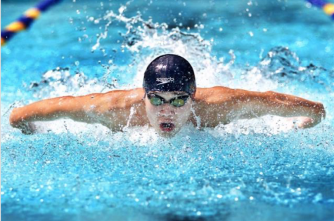 Senior Noah Rutberg has been swimming since he was nine years old, and now he has qualified for the 2020 Olympic Trials.