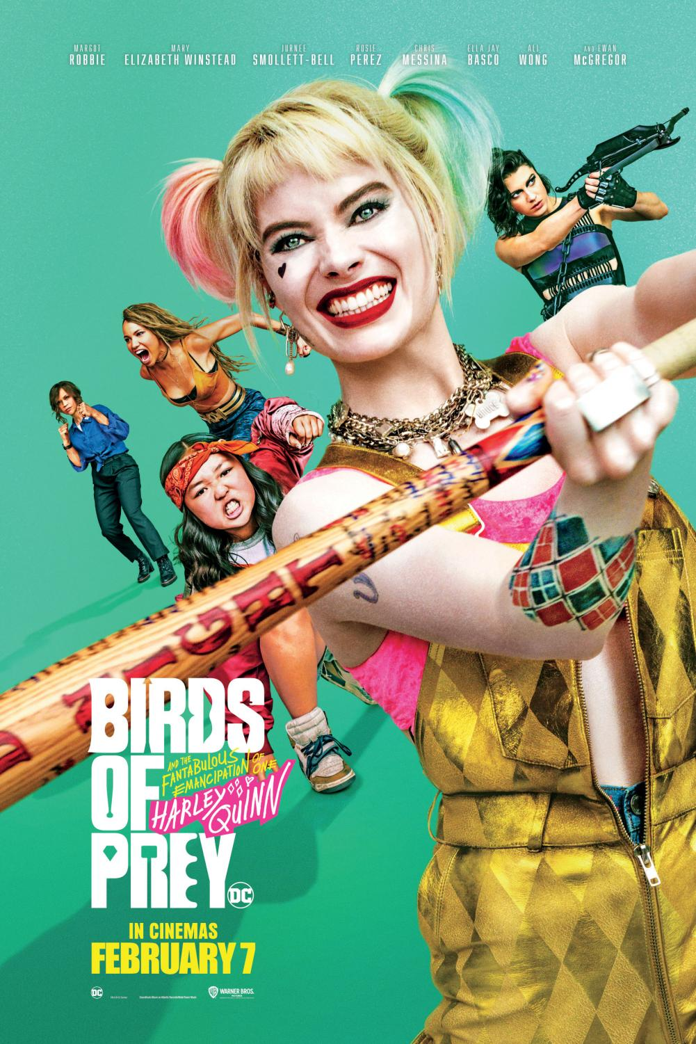 Birds Of Prey Flocks To The Top The Observer