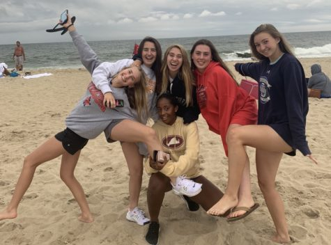 WCHS students spend their extend vacation at the beach in late August. Under Gov. Larry Hogan
