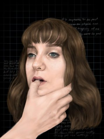 For junior Ruby Howard, creating art, like this self portrait, has always been one of her passions.