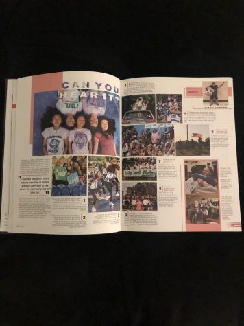 "This page of the WCHS yearbook from last school year displays the ""student life"" of WCHS students during the year. With less activities and events occuring this year, it has been a challenge for the yearbook team to put together an extensive book."