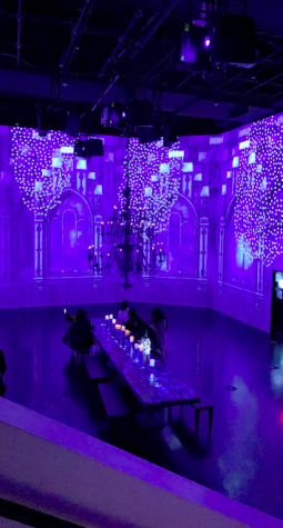Catherine Kutson attended Artechouse in early November. The Crystalline exhibit features many different blue themed rooms that all include interactive pieces of artwork as well as many different photo opportunities.