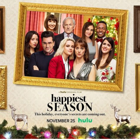 "Released on Hulu on Nov. 25th, ""Happiest Season"" is the first LGBTQ+ Christmas rom-com produced by a major studio."