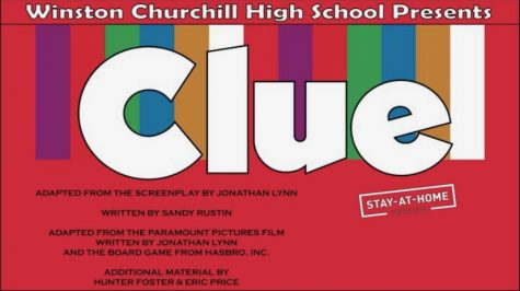 "The beginning screen for ""Clue: Stay-At-Home Version, available on the streaming service Broadway on Demand."