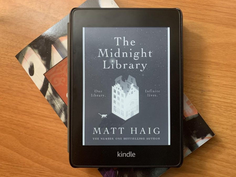 Books like The Midnight Library by Matt Haig can be read on Kindle or paperback. The unique plot will surely make time pass quickly.
