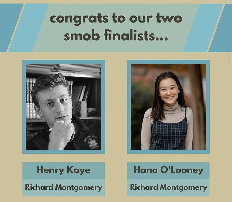 SMOB+final+candidates+Henry+Kaye+and+Hana+O%E2%80%99Looney%2C+both+current+juniors+at+Richard+Montgomery+high+school%2C+will+face+off+in+the+SMOB+general+election+in+April.+Current+SMOB%2C+Nick+Asante%2C+posted+this+infographic+as+a+congratulations+to+the+finalists+who+emerged+from+a+field+of+ten.+