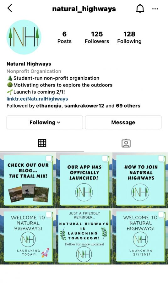 Natural Highways is the perfect solution to that stir crazy feeling you have been experiencing during the pandemic. Their organization provides opportunities to get exercise and connect with peers. Check out their Instagram for more information.