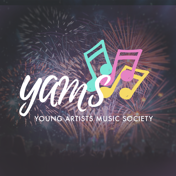 The Young Artists Music Society's logo on their website. YAMS is a student-led group that aims to spread greater access to music education.