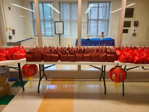 The Asian American Festivals Committee put together goodie bags for every teacher in order to celebrate The Lunar New Year during the pandemic.