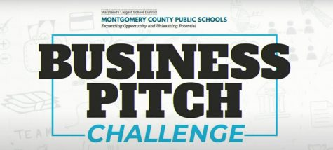 MCPS held a Business Pitch Challenge in late March for students to participate it. Ambitious students from across the county worked on products to present to the business sponsors.